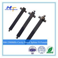 800-2500MHz 2/3/4 Way Cavity Power Divider Splitter N type female connector