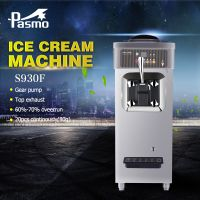 Pasmo soft Ice Cream Machine Table Top S930 with pump
