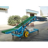 SVMVL1-Movable Van Loader/Vehicle Loading and Unloading Conveyor
