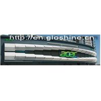 Gloshine full color P10 rental outdoor LED display advertising LED display