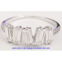 Brass rings in fine jewelry looking thumbnail image