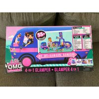 Original New L.O.L. Surprise O.M.G. 4 in 1 Glamper with 55+ Surprises Fully-Furnished with Light Up