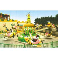New Lovely Style anusement park  ride Rotating Bee For Kids
