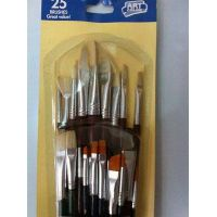 25Pcs fine art paint brushes for acrylic oil painting and watercolors painting