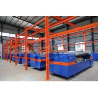 Automatic electroplating production line for rotogravure cylinder making thumbnail image