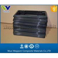 Cheap Wholesale Carbon Fiber License Frame
