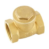 ML-8101 brass female hard seal horizontal check valve