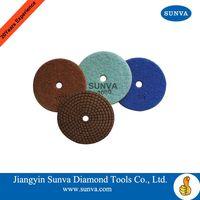 SUNVA Resin Bonded Soft Polishind Pads /Diamond Polishing Pad forStone thumbnail image