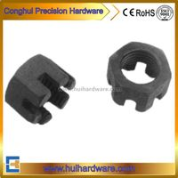 Din935 Hex Slotted Nut, Castle Nut