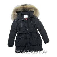 New Design Women fashion Winter Mink Fur Hooded Duck Down coat
