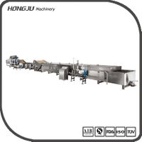 Customizable full set of automatic pasteurization line