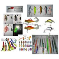 fishing lure, fishing bait, soft lure, hard bait, frog, spinnerbait, spoon, spinner, squid jig thumbnail image
