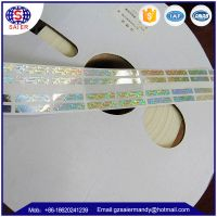 Hologram sticker , Hologram scratch label