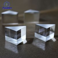 bk7 k9 Glass Right Angle Prisms Mirror Aluminum coating