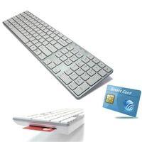 Smart Card Mac Compatible USB keyboard KB-801S thumbnail image