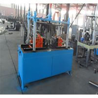 Vertical / Horizontal Muffler Double-end Flanging Machine / Flanger