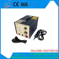 2017 guangzhou China ultrasonic positioned collar fusing machine cheap price