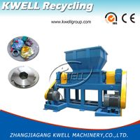 Top Quality Plastic Shredder/Waste Double Shaft Crusher Machine/Plastic Granulator