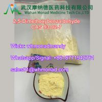 Factory Supply 99% High Purity CAS 93-02-7 2, 5-Dimethoxybenzaldehyde with 100% Pass Customs