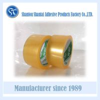 Strong adhesive no bubble transparent tape for carton packing