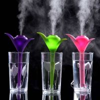New Design Clover Shaped Mini Humidifiers For Home With Usb Port