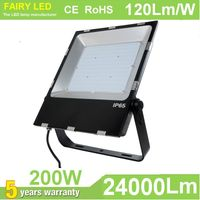 200W LED Flood Light 120Lm/W 3030SMD and Meanwell driver 5 year