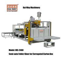 Semi-auto Folder Gluer for Corrugated Carton Box