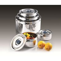 All Stainless Circle Airtight 5 set