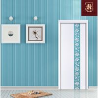 HONMAX interior fashion wood door with plentiful decorations and design styles