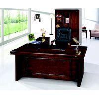office executive table,MDF office table,veneer office table,#A03