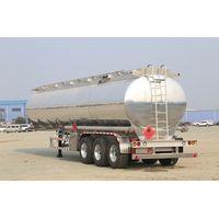 Fuel trailer / tank trailer/ oil trailer/ aluminium alloy fuel tank trailer/ oil tank trailer thumbnail image