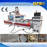Single Arm Ptp Italy Hsd Drilling Group Wood CNC Router thumbnail image