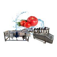 Strawberry washing and drying machine thumbnail image