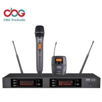 iWM3600 160 CHN Dual True Diversity UHF Wireless Microphone System