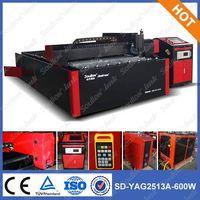 SD-YAG2513 laser cutter aluminum plate equipment