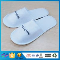 Made in China Printing Disposable Hotel Terry Slipper