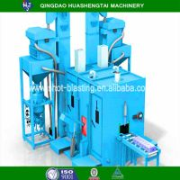 Quality assurance Roller pass through type shot blasting machine HQ69 series