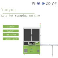 Automatic hot stamping machine for pen tube
