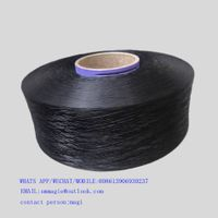900D POLYPROPYLENE PP YARN RECYCLED BLACK