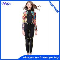 3mm women dive suit surfing suit women sexy fashion wetsuits high level neoprene material Neck and c thumbnail image