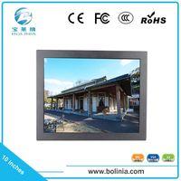 1080p 10 inch LCD monitor with vga av bnc input