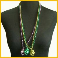 """33"""" Plastic Charming Necklaces Jewelry for Carnival"""