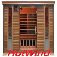 Luxury Portable Red Cedar Infrared Sauna room Sauna Cabin