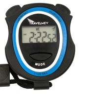 Digital Stopwatch Timer Portable Outdoor Sports Running Training Timer