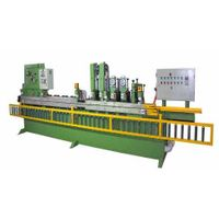 Abrasive belt peeling machine