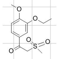 1-(3-Ethoxy-4-methoxyphenyl)-2-(methylsulfonyl)ethanone