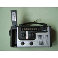 CE/RoHS/FCC Approved Siren ABS Solar Dynamo Radio thumbnail image