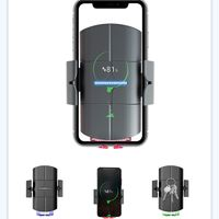 KC QI 15w Auto clamping fast wireless car charger for iphone samsung huawei thumbnail image