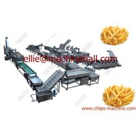 Automatic Frozen French Fries Production Line|French Fries Making Machine thumbnail image