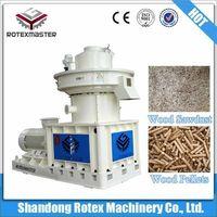 Wood pellet mill